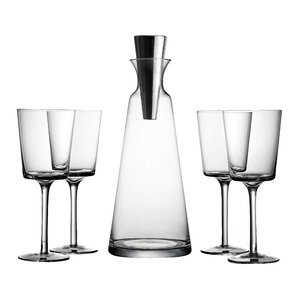5-Piece Lincoln Decanter Set