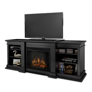 """Fresno 72"""" TV Stand with Electric Fireplace"""