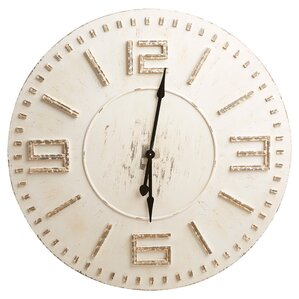 Levon Round Oversized Wall Clock