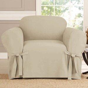 Arm Chair Box Cushion Slipcover  by Kashi Home
