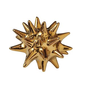 Urchin Decor in Gold