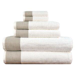 6-Piece Magnus Turkish Cotton Towel Set