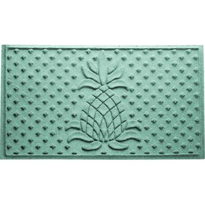 Aubrielle Diamond Pineapple Doormat