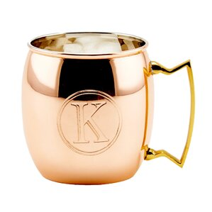 Personalized Copper Moscow Mule Mug by Old Dutch (Set of 4)