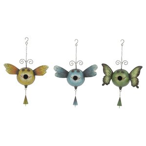 Vincent 3-Piece Decorative Bird Feeder Set