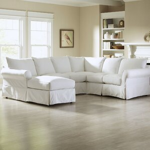 """Ilana 119"""" Down Blend Sectional"""