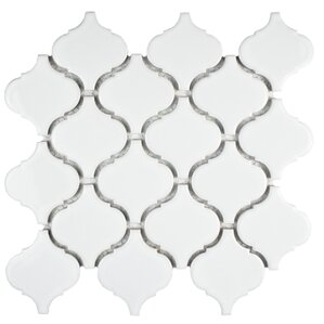"Pelham 2.87"" x 3.06"" Glazed Porcelain Tile"