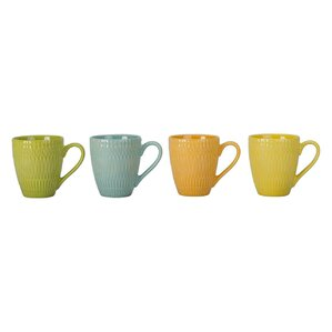 Trina Porcelain Mug (Set of 4)