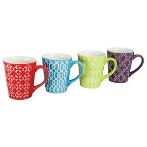 Mina Porcelain Mug (Set of 4)