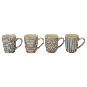 Aruba Porcelain Mug (Set of 4)