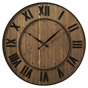 Turner Round Oversized Wall Clock