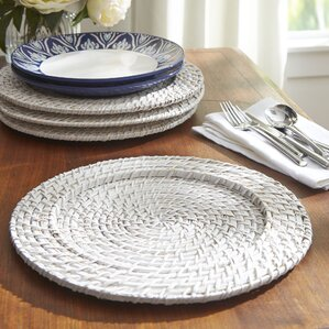 Madeline Rattan Charger Plate (Set of 4)