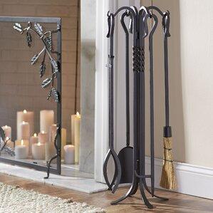 4-Piece Kent Fireplace Tool Set