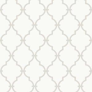 Graphic Trellis Wallpaper