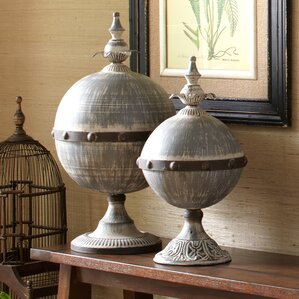 2-Piece Florence Finial Set (Set of 2)