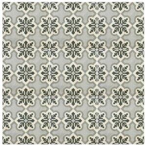 """Julianne 9.75"""" x 9.75"""" Porcelain Field Tile in Ruzafa"""