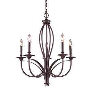 Park Avenue 5-Light Candle-Style Chandelier