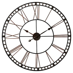 Malden Round Oversized Wall Clock