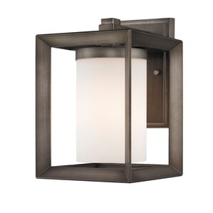 Amanda 1-Light Outdoor Sconce (Set of 2)