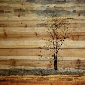 Tree Stands Alone Art Print