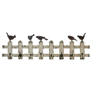 Birds of a Feather Wall Rack