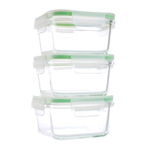 6-Piece Food Storage Container  (Set of 3)