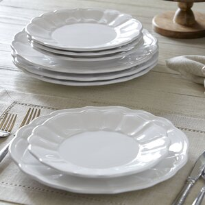4-Piece Lucy Dinner Plate Set  (Set of 4)