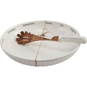Nicoline 2-Piece Pasta Bowl Set