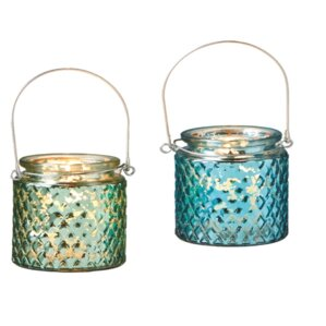 Ocean Breeze and Paradise Jar Candle (Set of 2)