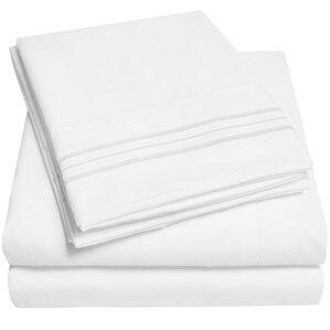 Lyndhurst 4-Piece 1500 Thread Count Microfiber Sheet Set