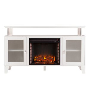 Bernice Media Console with Electric Fireplace