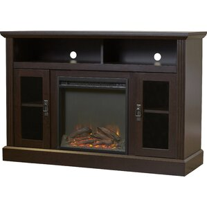 Sheryl Media Console with Fireplace
