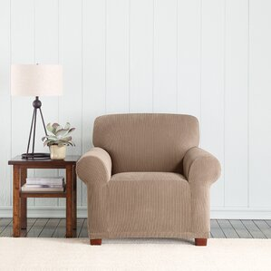 Stretch Pixel Armchair Slipcover  by Sure Fit