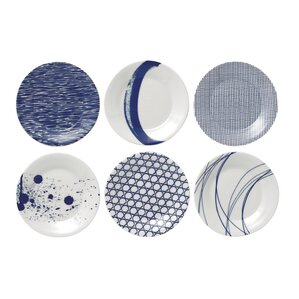 "Pacific 6.3"" Tapas Plates (Set of 6)"