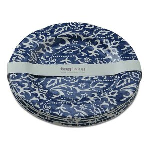 "Suzette 10"" Melamine Dinner Plate (Set of 4)"