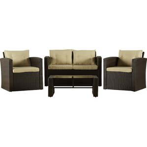 4-Piece Abigail Patio Seating Group