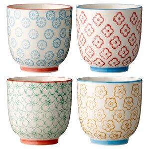 Vivianne Ceramic Cup Set (Set of 4)