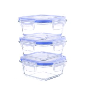 6-Piece 10 Oz. Food Storage Container  (Set of 3)