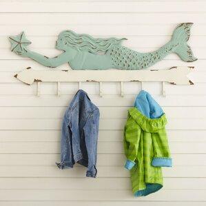 Mermaid Coat Rack  Kids