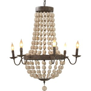 Tatiana 6-Light Candle-Style Chandelier