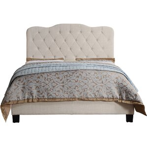 Evie Upholstered Panel Bed