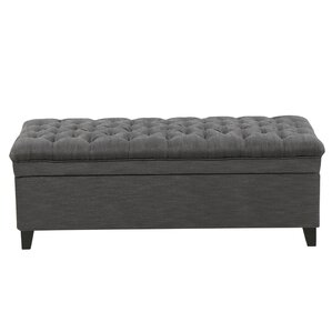 Bailey Tufted Storage Ottoman