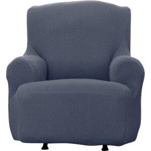 Savannah Popcorn T-Cushion Armchair Slipcover  by Home Fashion Designs