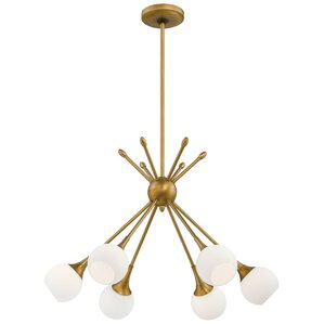 Gladys 6-Light Sputnik Chandelier