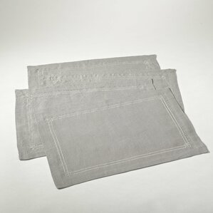 Lydia Embroidered Linen Placemat (Set of 4)