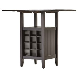 Janis 3 Piece Pub Table Set in Espresso