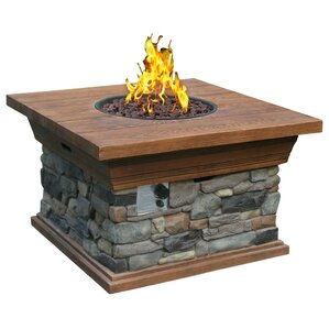 Normandy Propane Fire Pit Table
