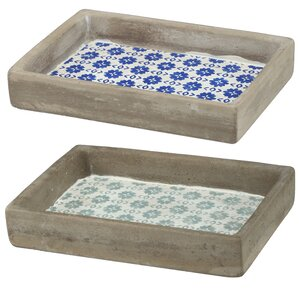 Mckinney Decorative Tray Set Of 2