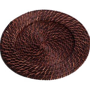Margie Rattan Charger Plate (Set of 4)