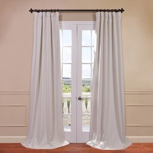 Freeman Solid Blackout Single Curtain Panel